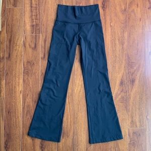 Lululemon Athletica H6 Black Flare Boot Cut Pants